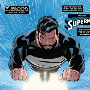 The Pre-Flashpoint Superman Is Keeping The Iron Giant As A Prisoner