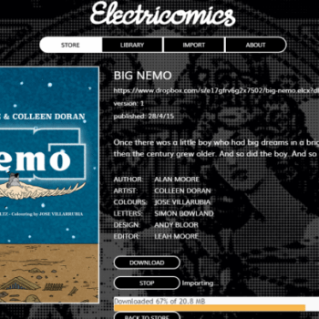 Electricomics Now Available For Free On PCs And Macs, From Alan Moore, Colleen Doran And Many More