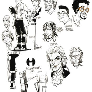Online Dating Meets Courtly Love: Brett Parson Shares Character Design Sketches For New Romancer