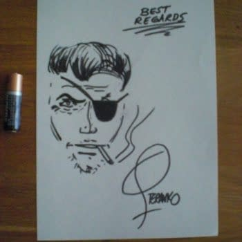 """Jim Steranko Confirms His """"Ducoso"""" Sketch on eBay Is Also A Fake"""