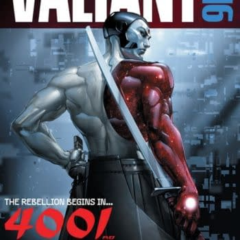 Valiant's Summer Event Is 4001 AD By Matt Kindt And Clayton Crain – And Begins With Free Comic Book Day FCBD 2016