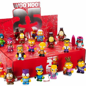 DOH Stuff Your Stockings With The Simpsons 25th Anniversary Mini Series