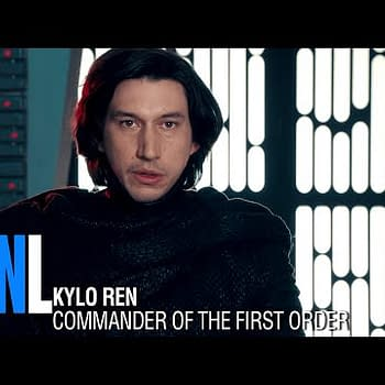 SNL Goes Undercover Boss With Kylo Ren