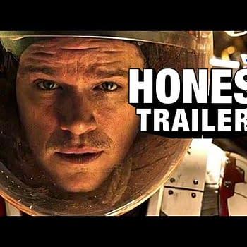 The Martian Honest Trailer &#8211 How Often Does Matt Damon Need Rescuing