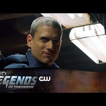 DCs Legends Of Tomorrow Chills Out With Captain Cold