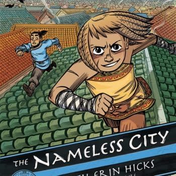 A Cover And Some Anticipation For Faith Erin Hicks' The Nameless City