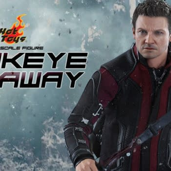 Win A Hot Toys Hawkeye Sixth Scale Figure From Avengers: Age Of Ultron