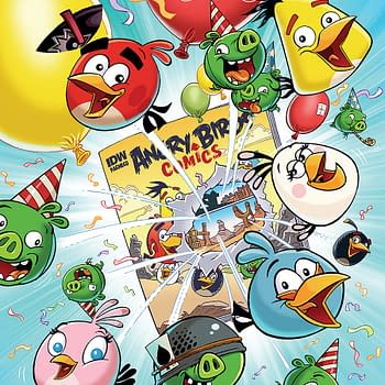 A Kid-Friendly Comic: Angry Birds Comics Relaunch #1 Review