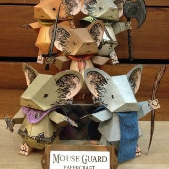 Build Your Own Mouse Army: A Mouse Guard Paper Craft For Fans
