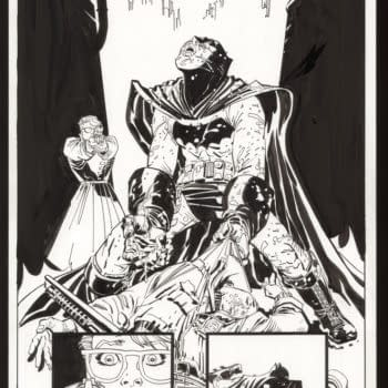 Dark Knight: The Master Race Original Art Gets Its Own Domain (Updated)