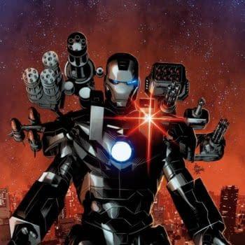 Marvel Pushes Invincible Iron Man #6 Hard