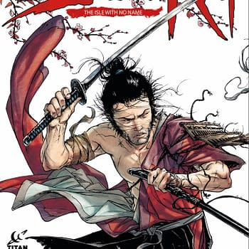 Titan To Publish New Samurai Tale From Di Giorgio And Genet