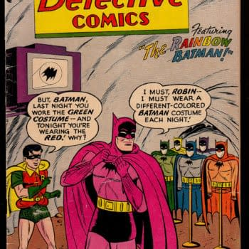 One Of Batman's Strangest Covers Becomes A Set Of Figures
