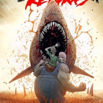 Ryan Ottley Talks The Return of Grizzly Shark – But Not Sea Bear!