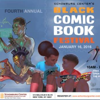 The Fourth Annual Black Comic Book Festival, Next Saturday In New York #blackcomicbookfestnyc