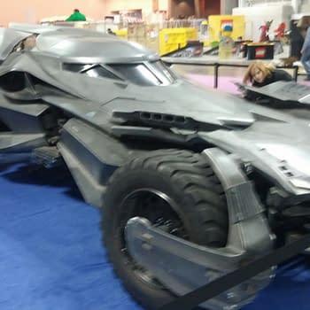 15 Shots Of The Batman V Superman Batmobile On Display In New York Today