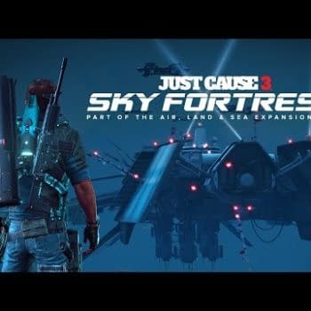 Just Cause 3: Sky Fortress DLC Brings A Touch Of Sci-Fi To Medici