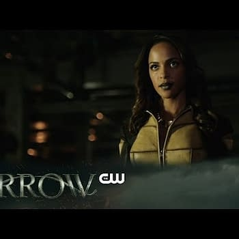 Vixen In Action As Green Arrow Goes Looking For Help