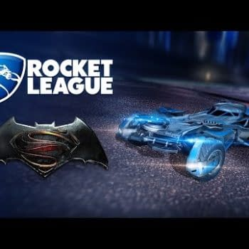 Batman V Superman Batmobile Coming To Rocket League