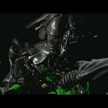 Check Out Xenomorph And Leatherface's Mortal Kombat X Fatalities And Moves