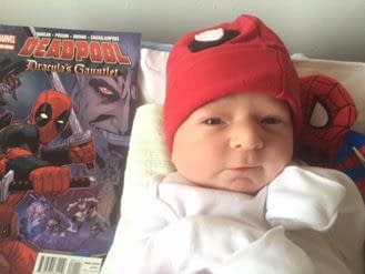 Deadpool Artist Reilly Browns Newborn Baby Has Lost Everything In A Fire. Can You Help