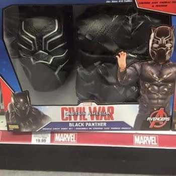 Now Anyone Can Be The Black Panther (Aged 4-6)