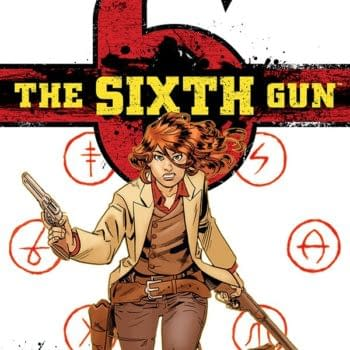 The Sixth Gun Ends With #50 In June – And Here Is Its Cover – Announcing At ComicsPRO