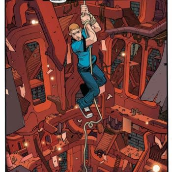 The Process Art For A&A: The Adventures Of Archer & Armstrong #1