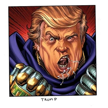 Arthur Adams Draws Donald Trump And Vladimir Putin For GQ