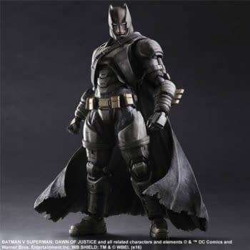 Square Enix Releases Photos Of Armored Batman Figure