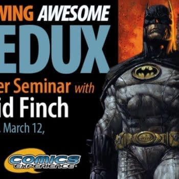 David Finch Answers Questions On His Comics Master Seminar – Dodges Them On DC Rebirth…