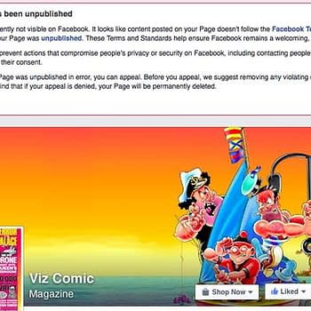 When Facebook Took Down The Page Of Britains Biggest Selling Comic Viz For Some Reason