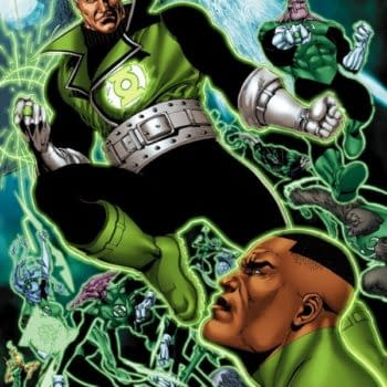 Ethan Van Sciver Leaves Green Lantern Corps: Edge Of Oblivion A Little Earlier Than Expected