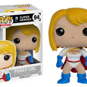 New DC Pop Figures Include Supergirl Powergirl Cyborg And More