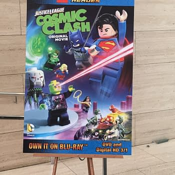 Lego DC Comics Super Heroes Justice League Cosmic Clash Red Carpet Interviews and Review