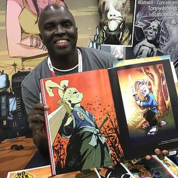Sanford Greene Talks Power Man Iron Fist De La Soul And NPR In Charlotte