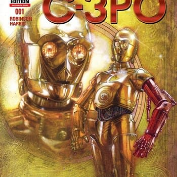 Sneak Peak At How C-3PO Got His New Red Arm. Or Not.