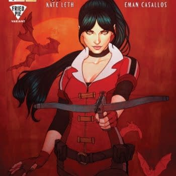 Vampirella Gets A Fried Pie Look, Thanks To Books-A-Million And Jenny Frison