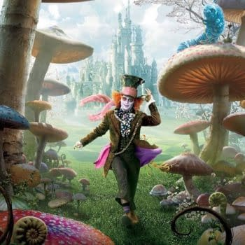 The Second Trailer For Alice Through The Looking Glass Features The Voice Of Alan Rickman