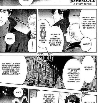 Titan Have The English Language Rights To BBC Sherlock Manga Announce At ComicsPRO