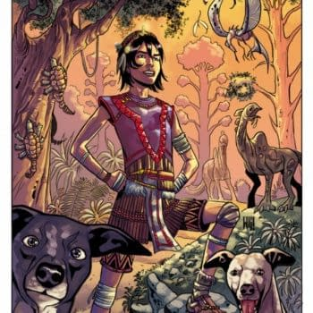 Wonderfall, A New All-Ages Comic By Gail Simone And Walter Geovani Announcing By Dark Horse At ComicsPRO (Art Update)