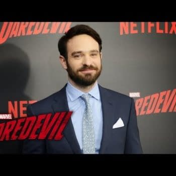 Charlie Cox, Jon Bernthal And Elodie Yung From The Daredevil Red Carpet