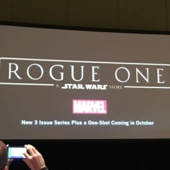 Marvel To Publish Rogue One, A  Star Wars Story In October, Announced At C2E2