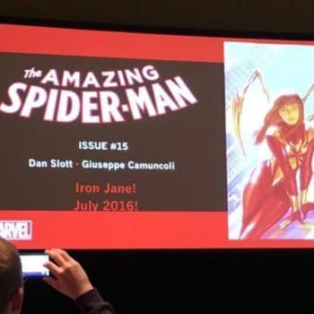 Amazing Spider-Man Brings Us… Iron Jane! In June, Announced At C2E2
