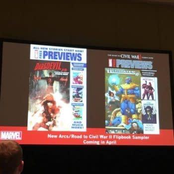 Marvel To Launch It's All-New/Civil War II Previews Flip Book Freebie