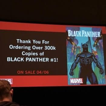 Marvel Announces At C2E2 That Black Panther Has Sold Over 300,000 Copies Of Issue #1