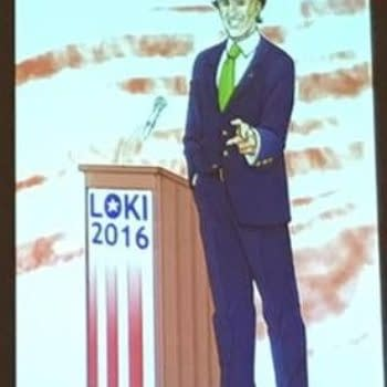 Marvel Shows Off Langdon Foss Concept Art for Vote Loki 2016 At C2E2