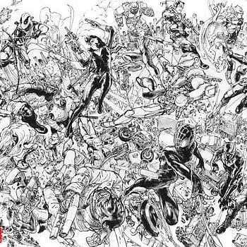Watch How Kim Jung Gi Draws These Connective Covers For Civil War II. No Pencils Required.