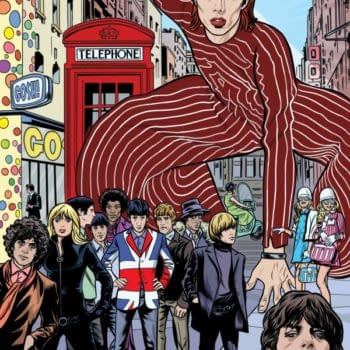 Mike Allred's Swinging London Print For Gosh Comics, Available Tomorrow