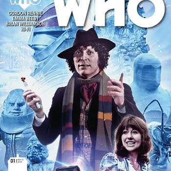 All The Covers For Titans Doctor Who: The Fourth Doctor #1